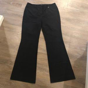 New York & Co Pinstripe Wide Leg Dress Pant